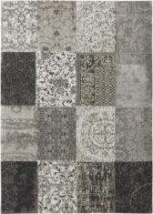 Czarno biały dywan patchwork - Black & White 8101