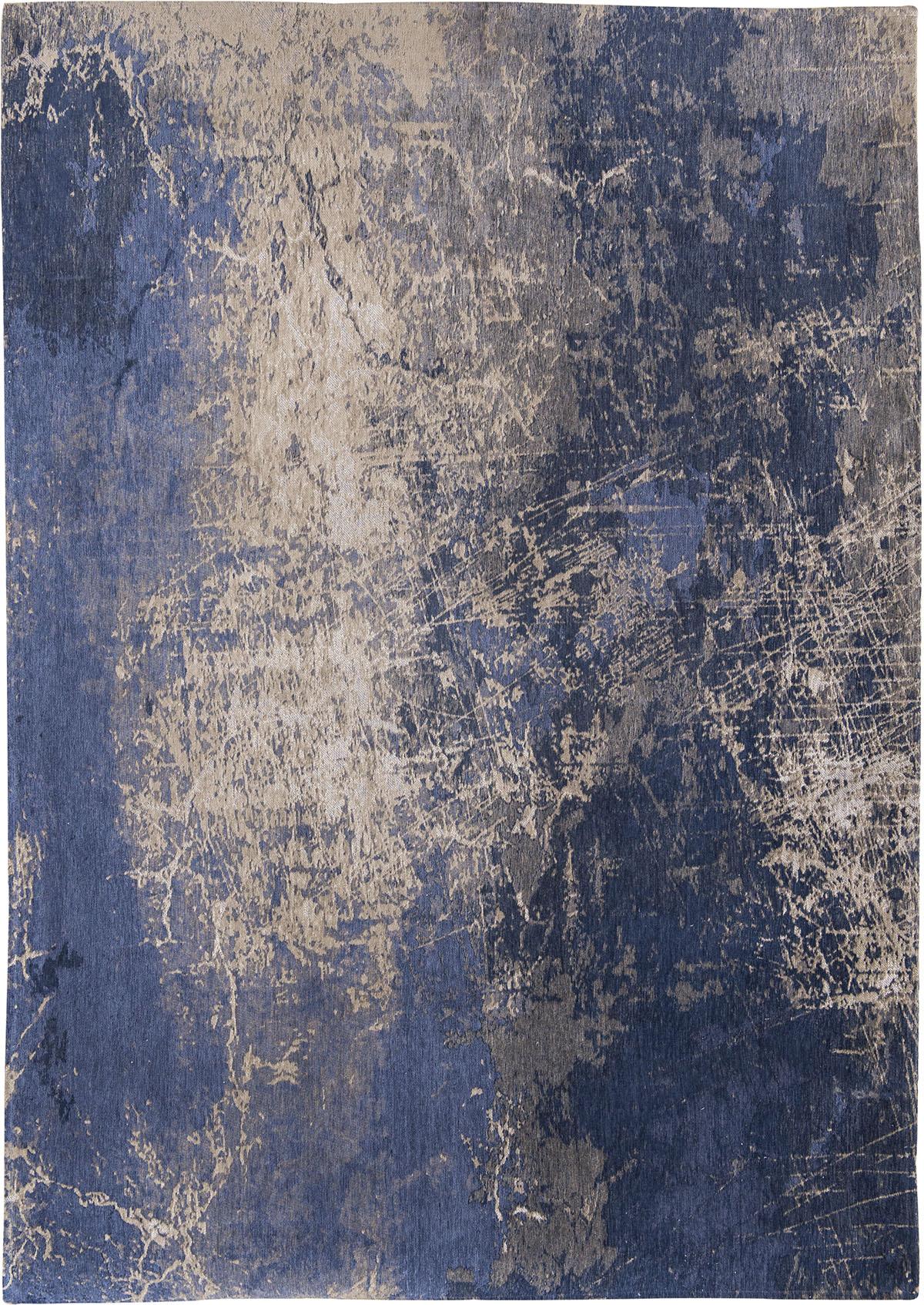 Niebieski Dywan Nowoczesny - Abyss Blue 8629