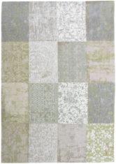 Oliwkowy Dywan Patchwork pastelowy - Pale Pistachio 8240