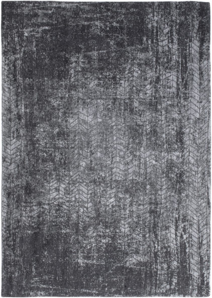 Szaro Czarny Dywan w jodełkę - Harlem Contrast 8425