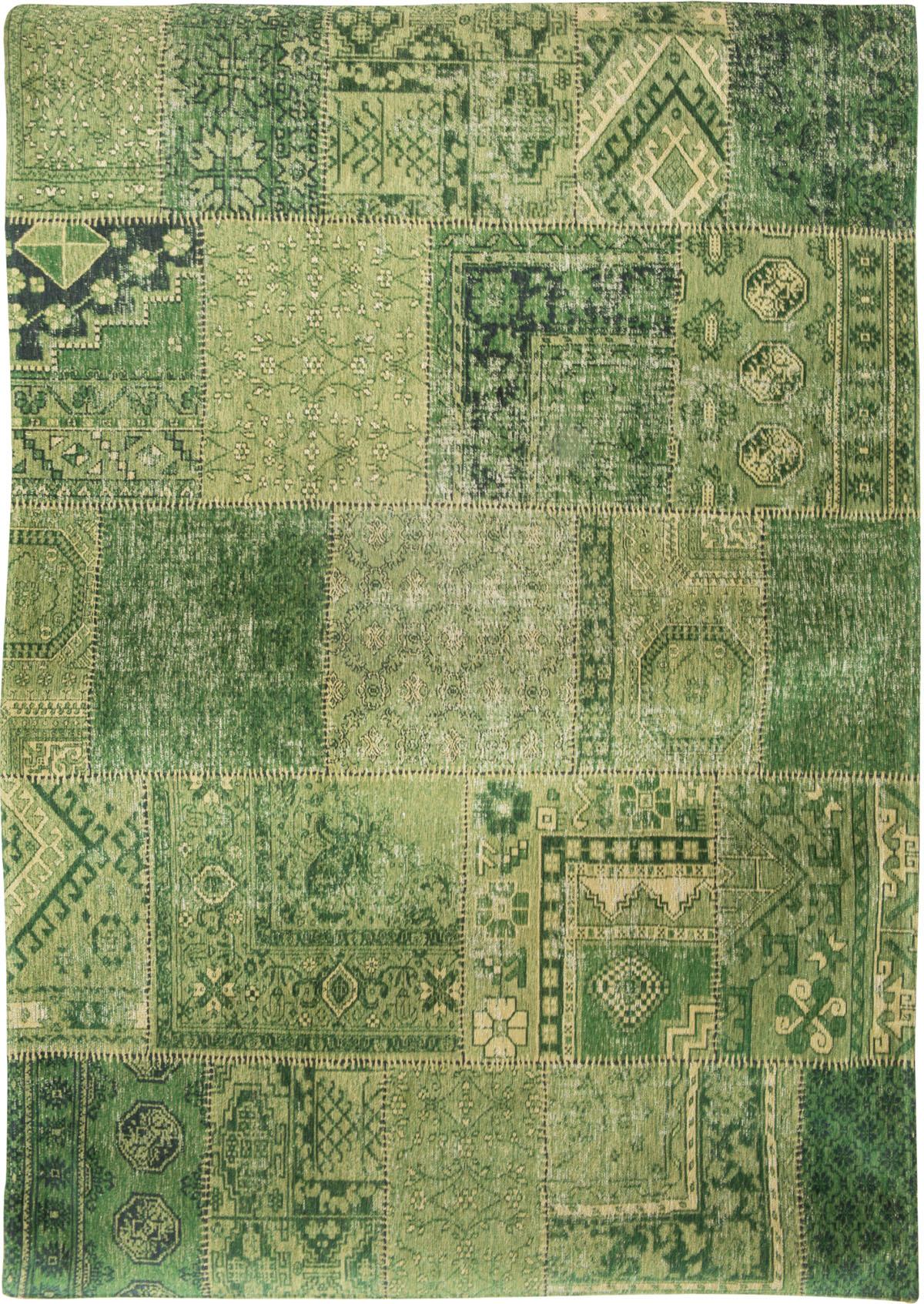Zielony Dywan Patchwork - Hanging Gardens 8688