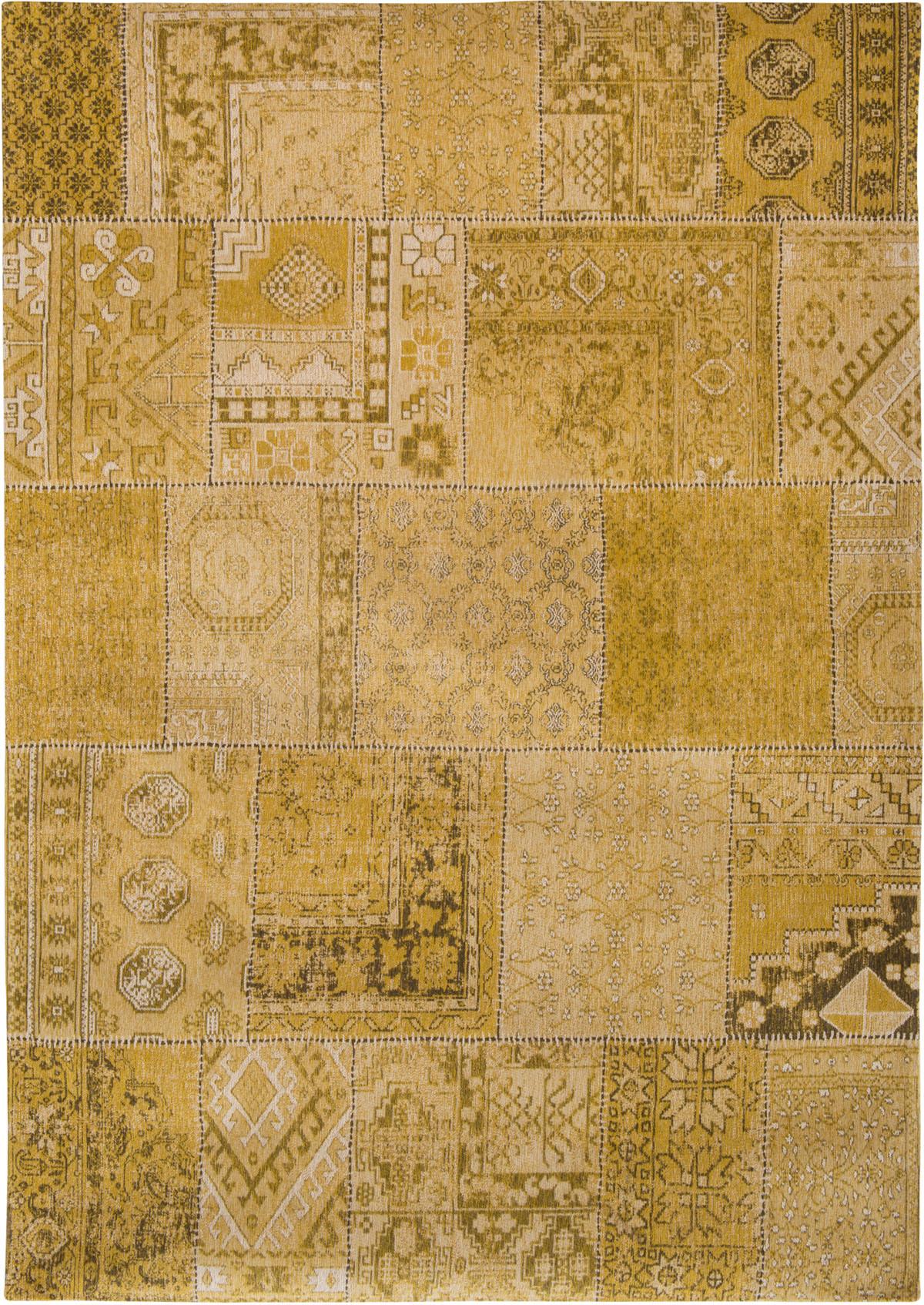 żółty Dywan Patchwork - palmyra gold 8686
