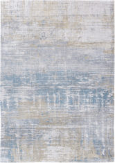 beżowo niebieski dywan nowoczesny - Long Island Blue 8718
