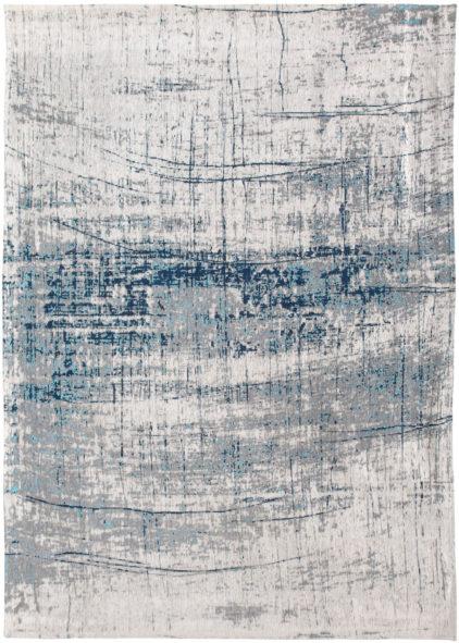 biało niebieski dywan nowoczesny - Bronx Azurit 8421