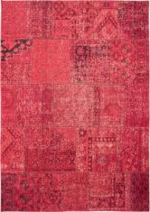 czerwony dywan patchwork mirage red 8782