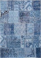 niebieski dywan patchwork tuareg blue 8781