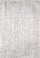 pomarańczowo biały dywan w jodelke - Coppertone 8951