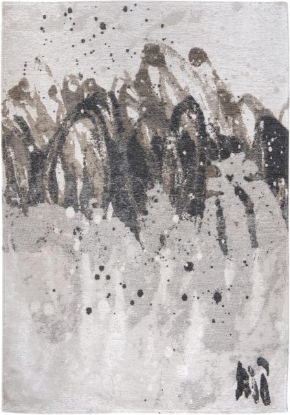 szaro biały dywan nowoczesny - Grey Waves 8640