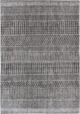 szaro czarny dywan we wzory amazigh grey 8673