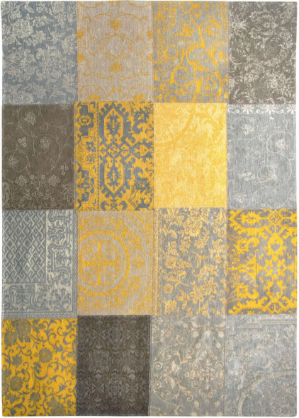 żółty Dywan patchwork - Yellow 8084
