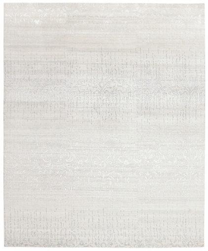 biało szary dywan wycinany Shangri La Rococo 7030