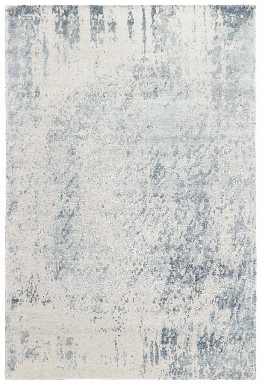 biało szary ekskluzywny dywan 3D - Senses Couldburst 7071