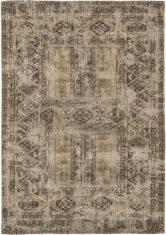 brązowy dywan vintage - Agha Old Gold 8720