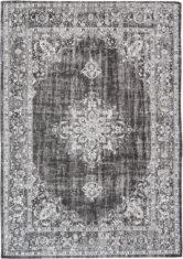 czarno biały dywan klasyczny Dark 8669