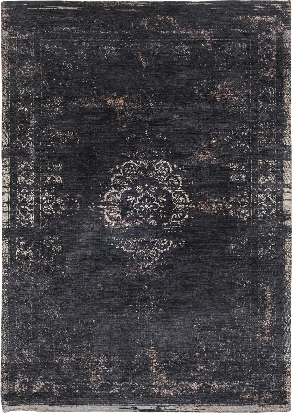 3ecddb623a706e Czarny dywan klasyczny vintage - MINERAL BLACK 8263