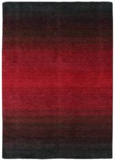 czerwony dywan cieniowany Panorama Black Red 7006