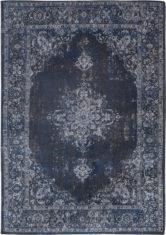 granatowy dywan klasyczny Flow 8678