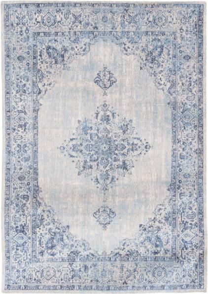 niebieski dywan klasyczny blue border 8670