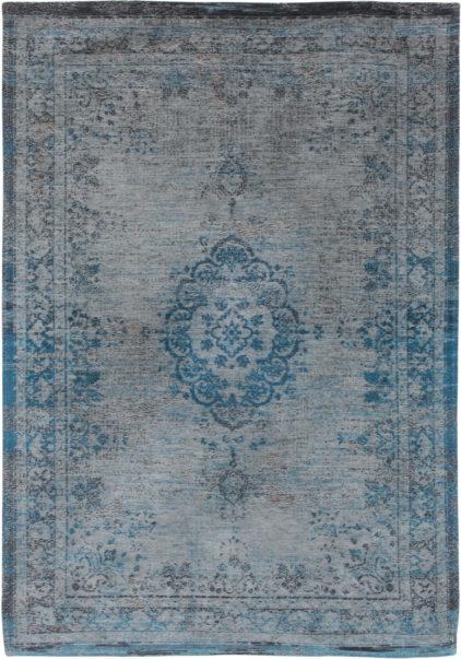 niebiesko szary dywan klasyczny - Grey Turquoise 8255