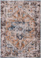 pomarańczowo niebieski dywan klasyczny Seray Orange 8705