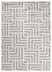 szary dywan geometryczny Cosmou Avenue 7054