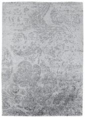 szary ekskluzywny dywan 3D - Senses Baroque 7073