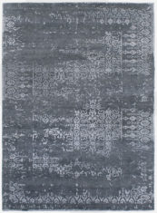 szary ekskluzywny dywan 3D - Senses Faded 7076