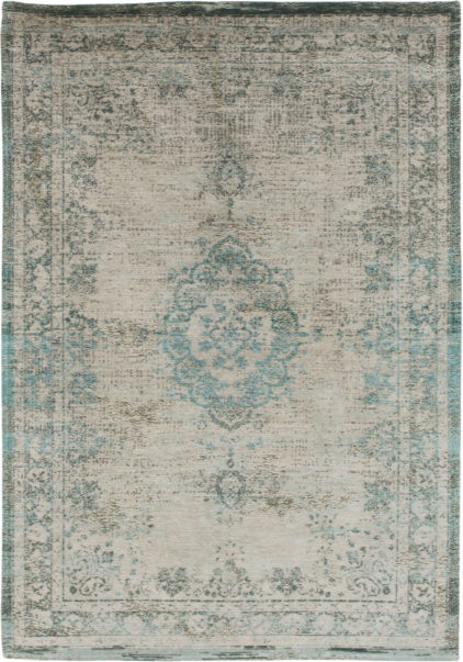 turkusowo szary dywan klasyczny - Jade Oyster 8259