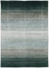 zielony dywan cieniowany Panorama Black Grey 7005