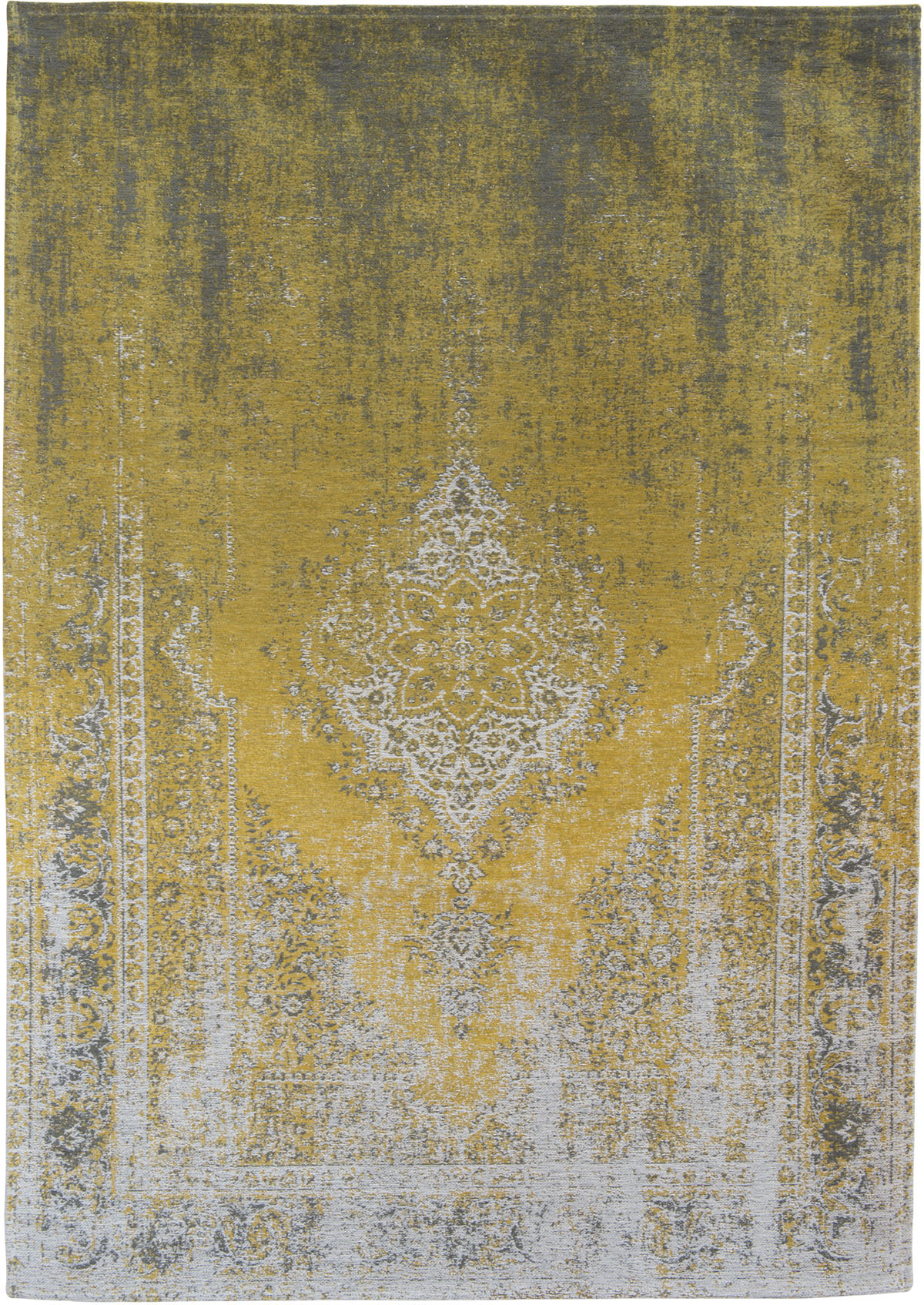 żółty dywan klasyczny - Yuzu Cream 8638