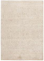 beżowy dywan ekskluzywny 3D - Damask 7091