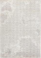 biało szary dywan ekskluzywny 3D - Damask 7089