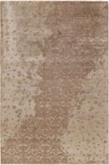 brązowy dywan ekskluzywny 3D - Damask 7088