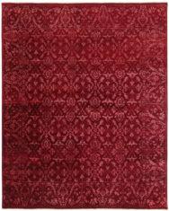 czerwony dywan ekskluzywny 3D - Damask 7086