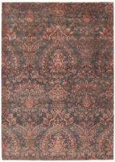 czerwony dywan ekskluzywny 3D - Damask 7094