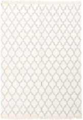 dywan marokanska koniczyna biały carpediem White 7060