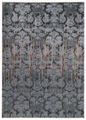 szary dywan ekskluzywny 3D - Damask 7083