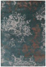 zielony dywan ekskluzywny 3D - Damask 7084
