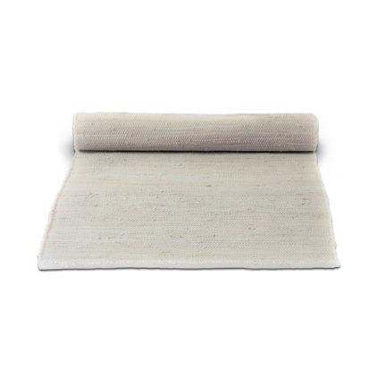 beżowy dywan bawełniany z recuklingu - Desert White 0042