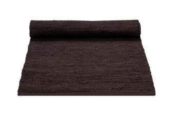 brązowy dywan bawełniany z recyklingu - Brown 0040