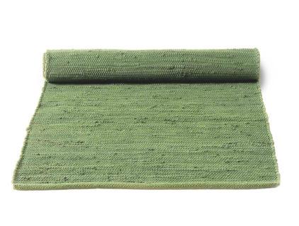zielony dywan bawełniany z recyklingu - Olive Green 0052