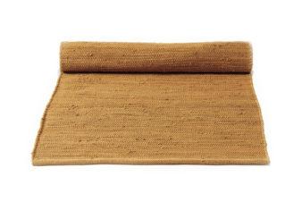żółty dywan bawełniany z recyklingu - Burnished Amber 0039