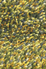 Dywan shaggy zielony Rocks 70507