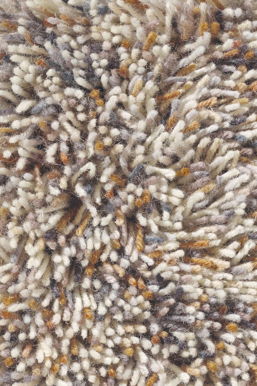 bezowy dywan shaggy Flamenco 59001