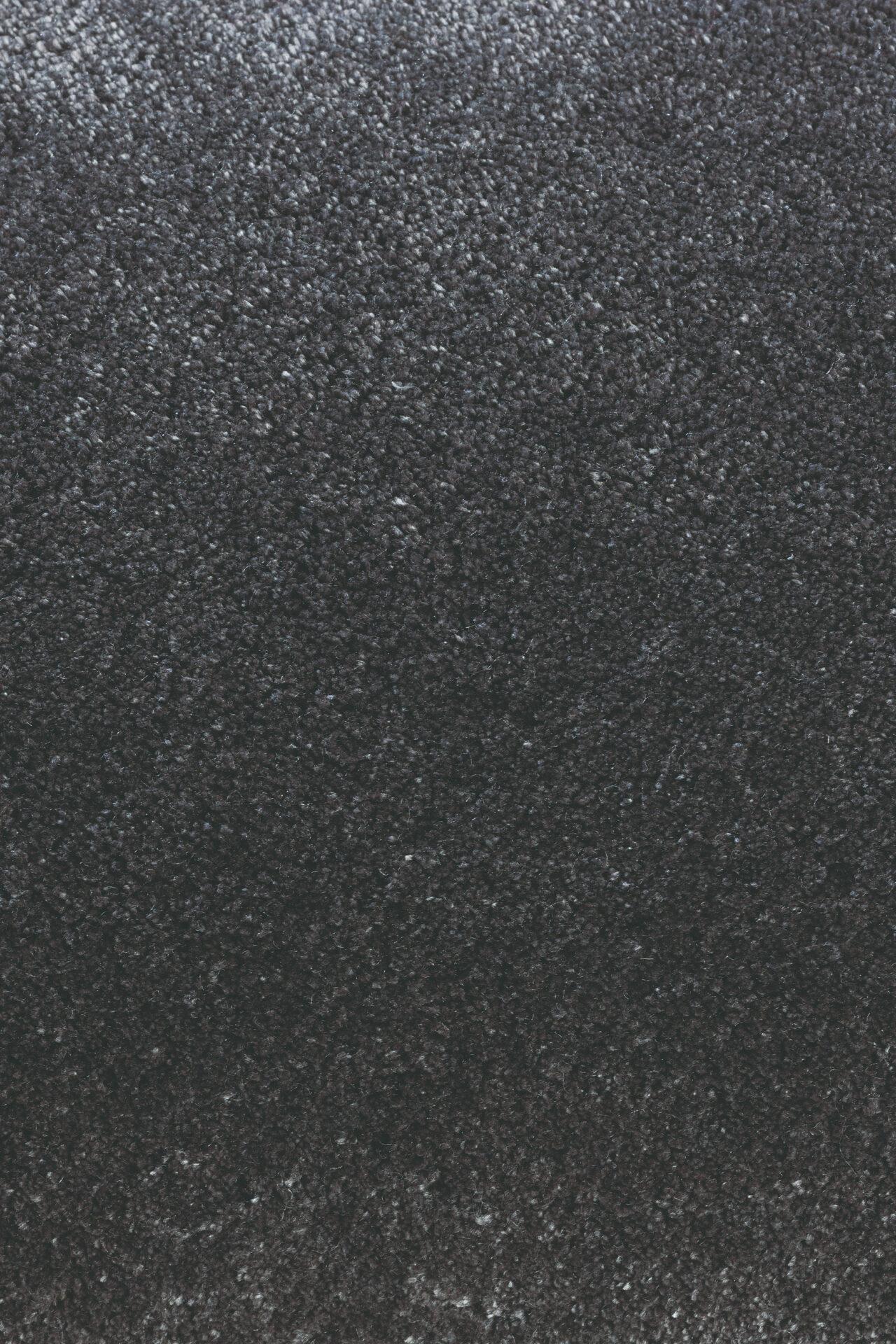 czarny dywan gladki Twinset Uni Cut Pile 21515