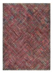 czerwony dywan geometryczny Prado Crayon 22600