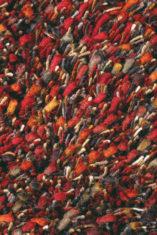 czerwony dywan shaggy Spring 59100