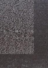 czarny dywan gładki Twinset Border 21215