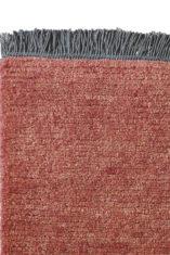 czerwony dywan gładki Nima Charcoal 97000