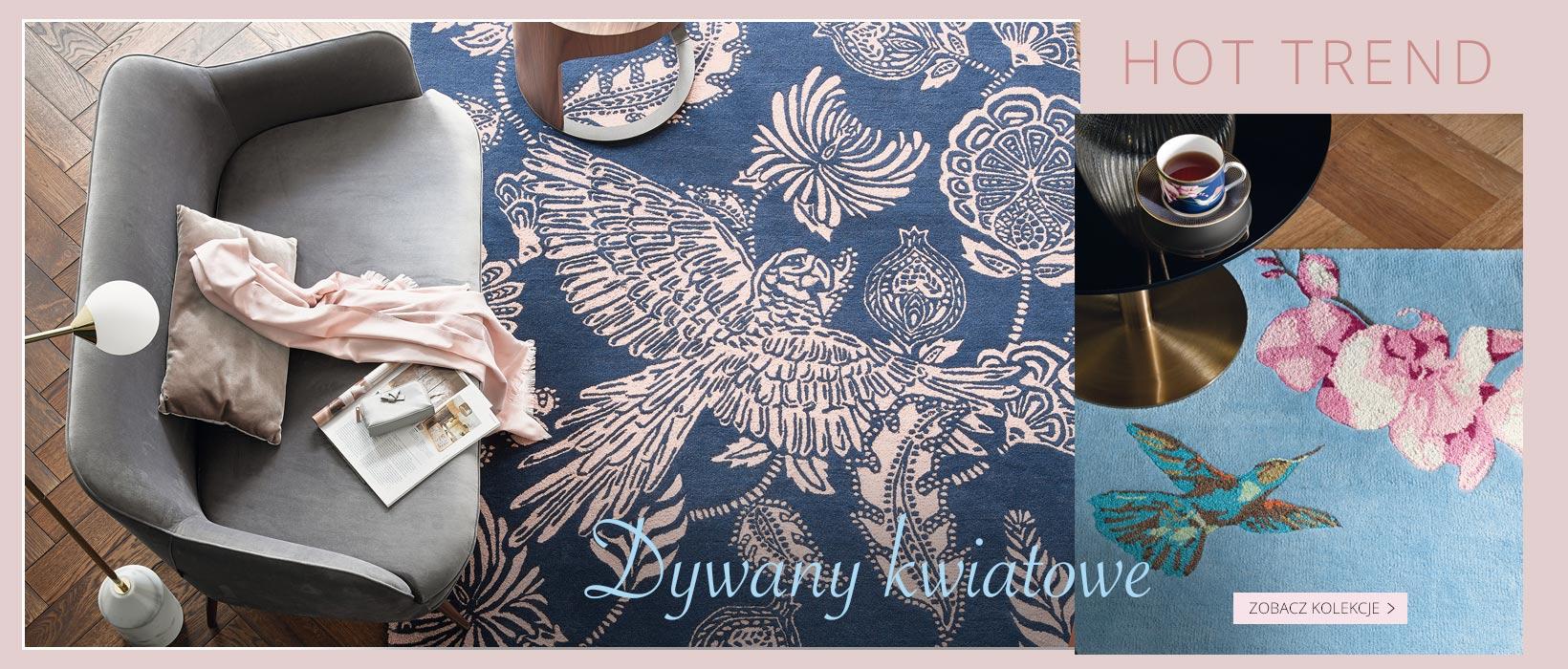 Slajd dywany kwiatowe